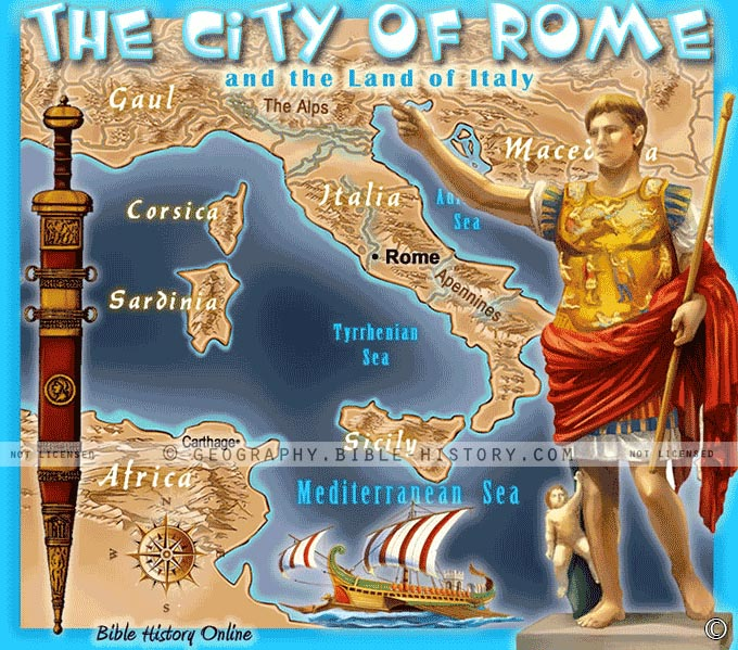 The City of Rome in Bible Times