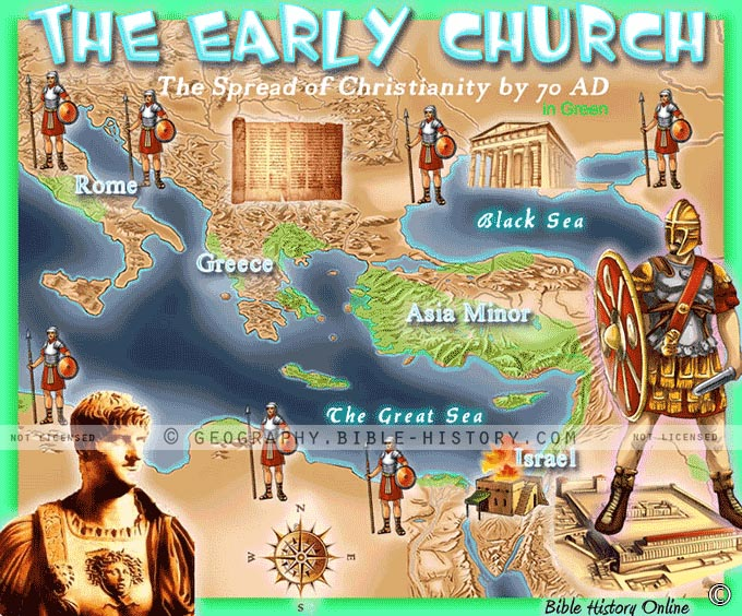The Early Church and the Spread of Christianity by 70 AD