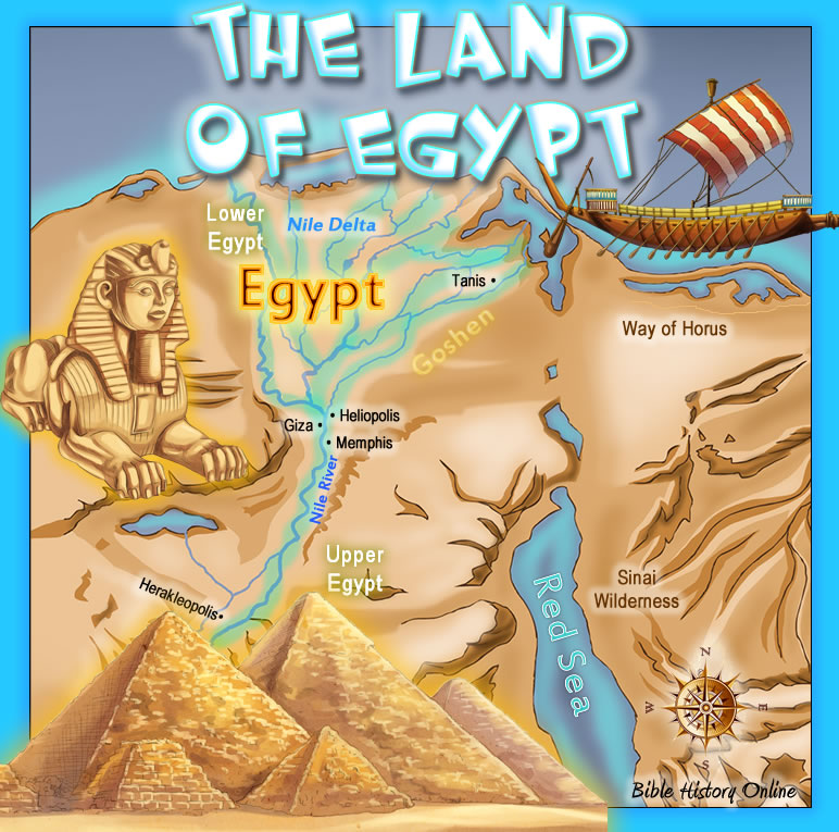 The Land of Egypt in Bible Times