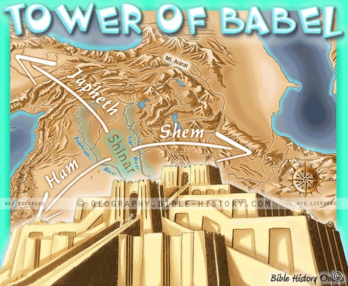 Tower of Babel in Bible Times